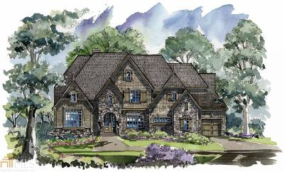 Milton Single Family Home New: 800 Foxhollow Run