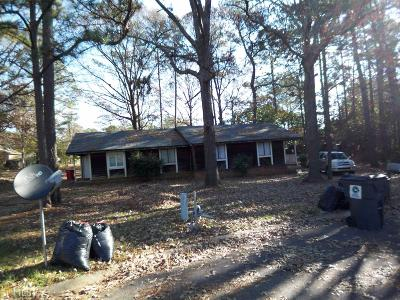 Clayton County Multi Family Home New: 8386 Glenwoods Ter