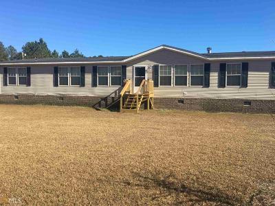Statesboro Single Family Home New: 980 Bryan Still Rd
