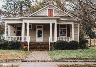 Barnesville Single Family Home For Sale: 812 Thomaston