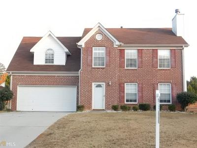 Clayton County Single Family Home New: 3038 Cotton Indian Cir