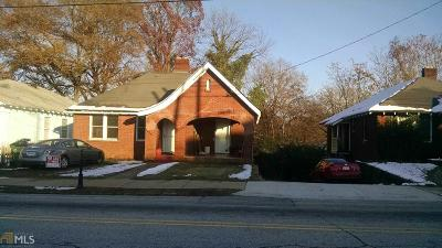 Fulton County Single Family Home For Sale: 1424 SW Sylvan Rd