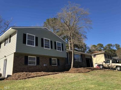 Clayton County Single Family Home New: 6899 Maddox Rd