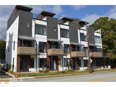 Atlanta Single Family Home New: 292 Gordon Ave #Unit C