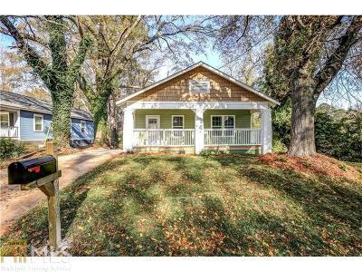 Atlanta Single Family Home New: 2512 SW Perkerson Rd