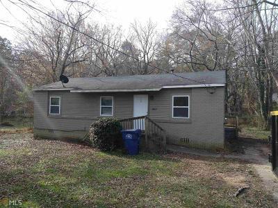 Atlanta Single Family Home New: 1306 Redford Dr SE