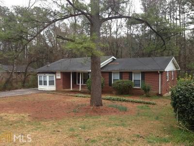 Decatur Single Family Home New: 2599 McGlynn Dr
