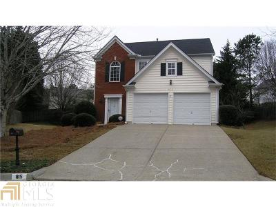 Alpharetta GA Single Family Home New: $275,000