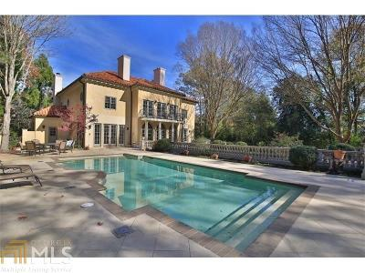 Buckhead Single Family Home For Sale: 1930 W Wesley Rd