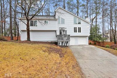 Cobb County Single Family Home Back On Market: 3449 Arete Ct