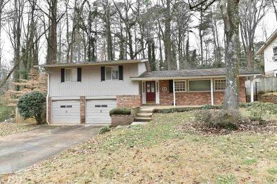 Chamblee Single Family Home For Sale: 3648 Cold Spring Ln