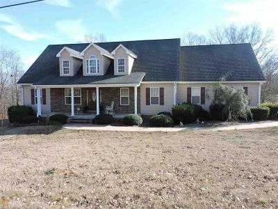 Elbert County, Franklin County, Hart County Single Family Home For Sale: 316 Windy Hill Rd