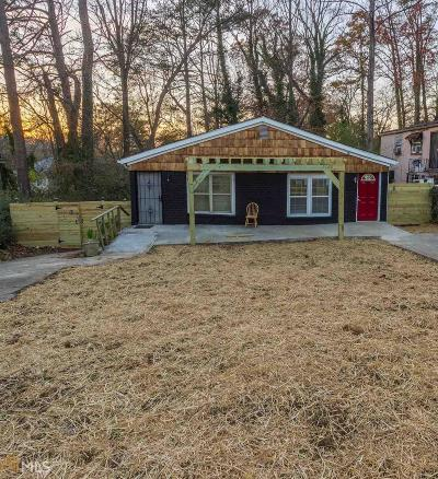 Fulton County Multi Family Home Under Contract: 406 Westchester Blvd