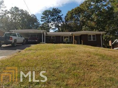 Decatur Single Family Home For Sale: 1429 Thomas Rd