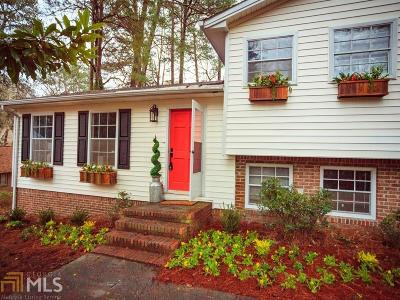 Smyrna Single Family Home For Sale: 5160 Thistle
