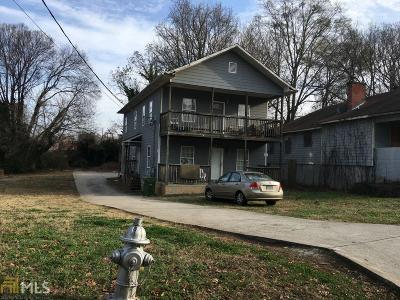 Fulton County Multi Family Home Under Contract: 987 Dimmock St