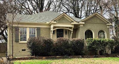 Hapeville Single Family Home For Sale: 3415 Harding Ave