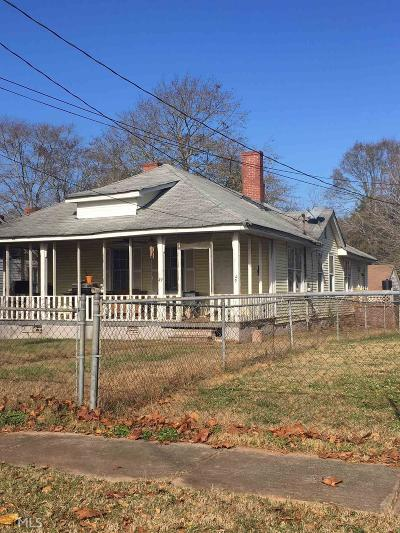 Porterdale Single Family Home Under Contract: 49 Poplar St