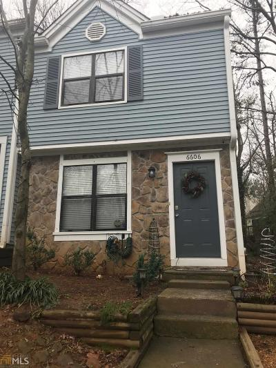 Norcross Condo/Townhouse Under Contract: 6606 Autumn Trace Dr