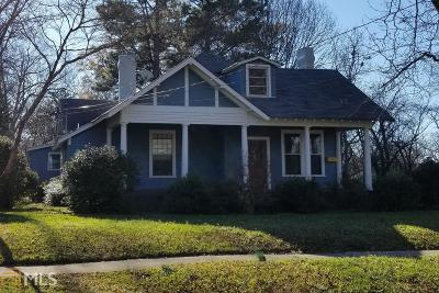 Barnesville Single Family Home For Sale: 121 Georgia Ave