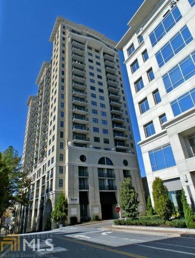 Ovation Condo/Townhouse For Sale: 3040 Peachtree Rd #1108