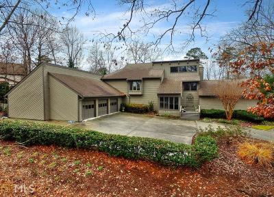 Marietta Single Family Home Under Contract: 5245 Lower Roswell Rd