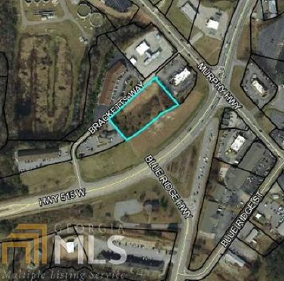 Blairsville Commercial Under Contract: Bracketts Way #1.5 AC