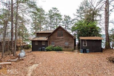 Greensboro, Eatonton Single Family Home For Sale: 125 Pinewood Dr