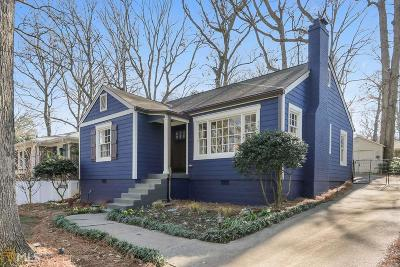 Decatur Single Family Home For Sale: 1713 Coventry Rd