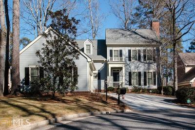 Roswell Single Family Home Under Contract: 9745 Terrace Lake Pt