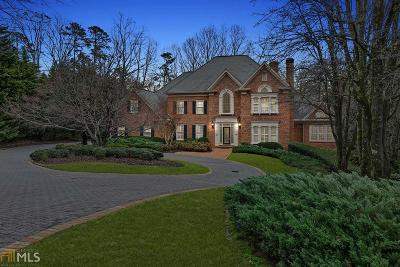 Alpharetta Single Family Home For Sale: 9315 Chandler Bluff