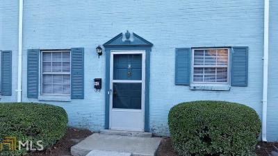 Fulton County Condo/Townhouse For Sale: 4701 Flat Shoals