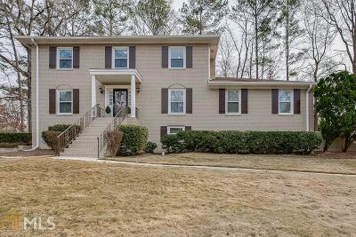 Dunwoody Single Family Home For Sale: 4963 Vernon Springs Dr