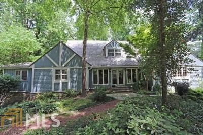 Sandy Springs Single Family Home New: 7940 Innsbruck Dr