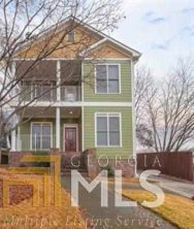 Old Fourth Ward Single Family Home For Sale: 578 Angier Ave