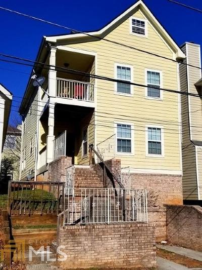 Fulton County Single Family Home For Sale: 96 Crumley St