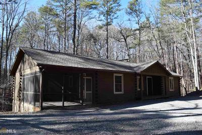 Sautee Nacoochee Single Family Home For Sale: 428 Sautee Trl
