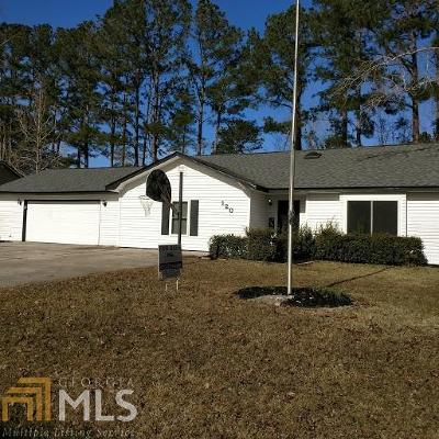The Meadows Single Family Home For Sale: 120 Old Folkston Rd