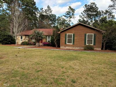 Statesboro Single Family Home For Sale: 727 Hillwood Dr