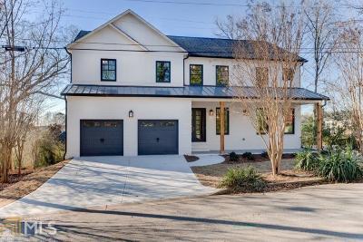 Smyrna Single Family Home For Sale: 4232 Maner St