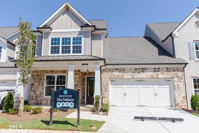 Cobb County Condo/Townhouse For Sale: 3491 Oakshire Dr