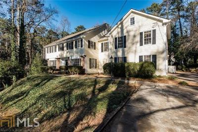 Sandy Springs Single Family Home New: 520 Dalrymple Rd