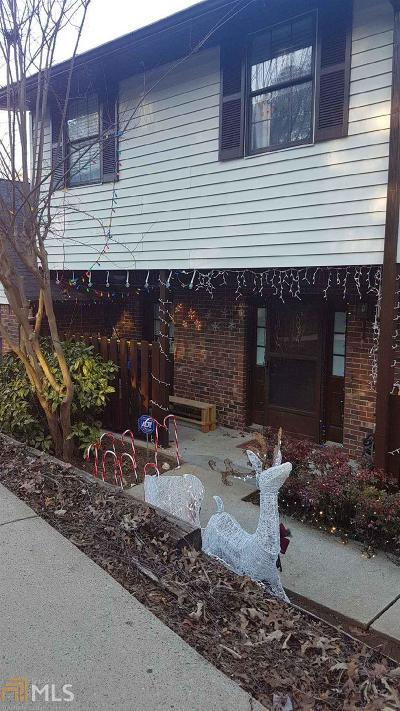 Norcross Condo/Townhouse Under Contract: 6034 Wintergreen Rd