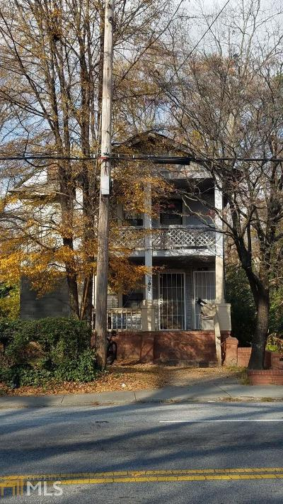 Fulton County Multi Family Home Under Contract: 1053 Martin Luther King