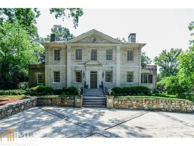 Buckhead Single Family Home New: 3201 Habersham Rd