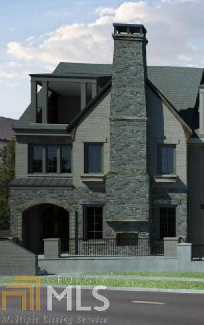 Alpharetta GA Condo/Townhouse New: $820,000
