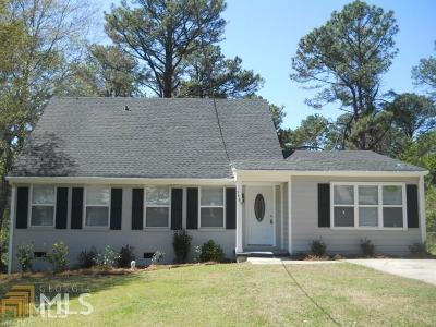 College Park Single Family Home New: 5485 Deerfield Trl