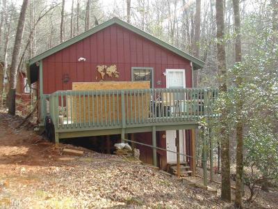 Dahlonega Single Family Home For Sale: 1656 Syrup Mill Rd