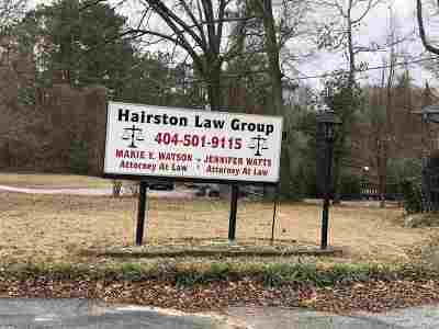 Stone Mountain Commercial For Sale: 945 S Hairston Rd