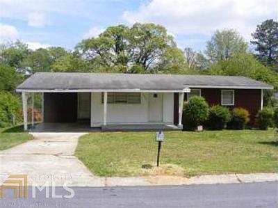 Clayton County Single Family Home New: 5260 Heather